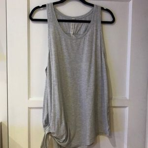 Lululemon Tank with Side knot